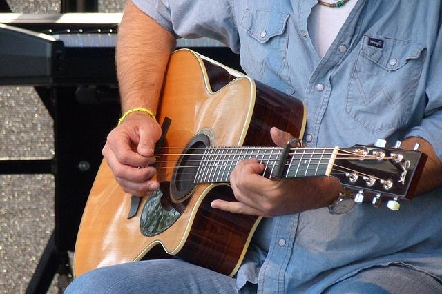Free guitar musical instrument play play guitar