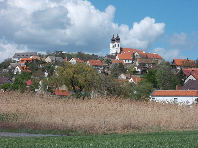 Free hungary village landscape countryside summer