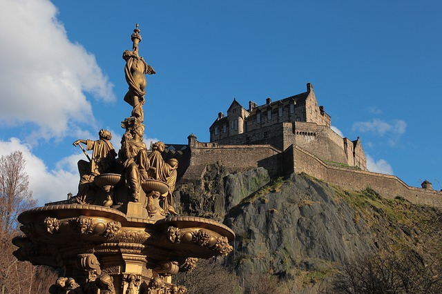 Free edinburgh castle fontana