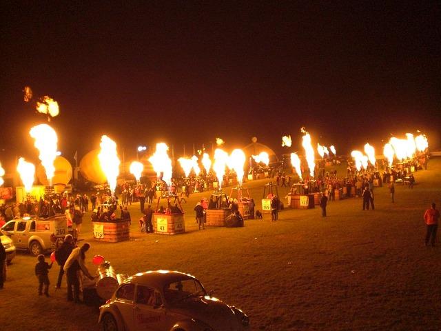 Free fire flame darting flame hot night balloon basket