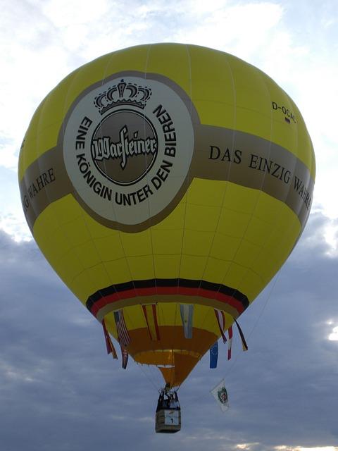 Free warsteiner hot air balloon balloon