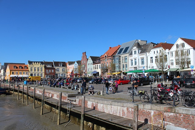 Free Photos: Husum port city norddeutschand north sea | Frauke  Feind