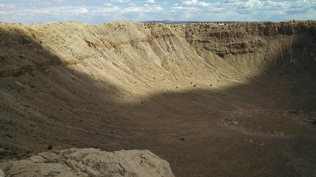 Free meteor crater arizona
