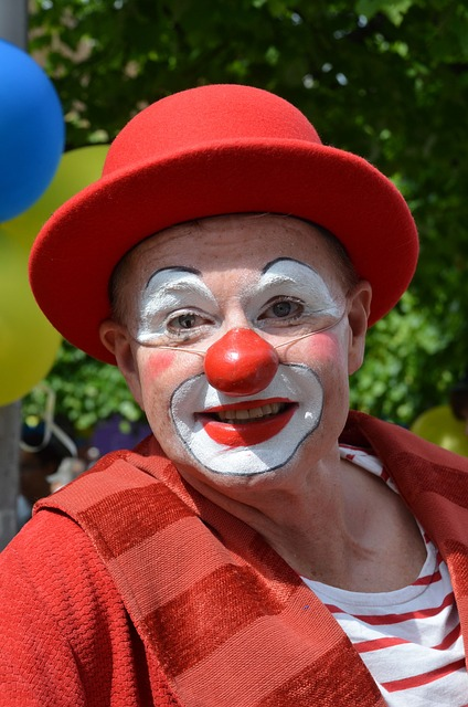 Free clown comedian nose circus funny laugh make-up