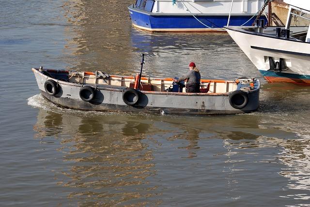 Free Photos: Skiff boatman river thames london | Steve Bidmead