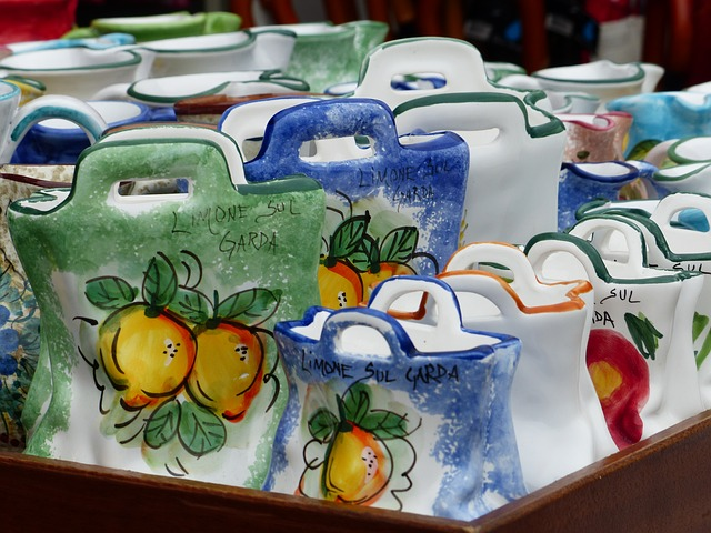 Free bags ceramic porcelain pottery italian