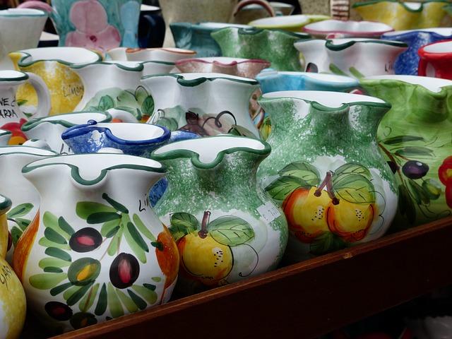 Free jugs ceramic porcelain pottery italian