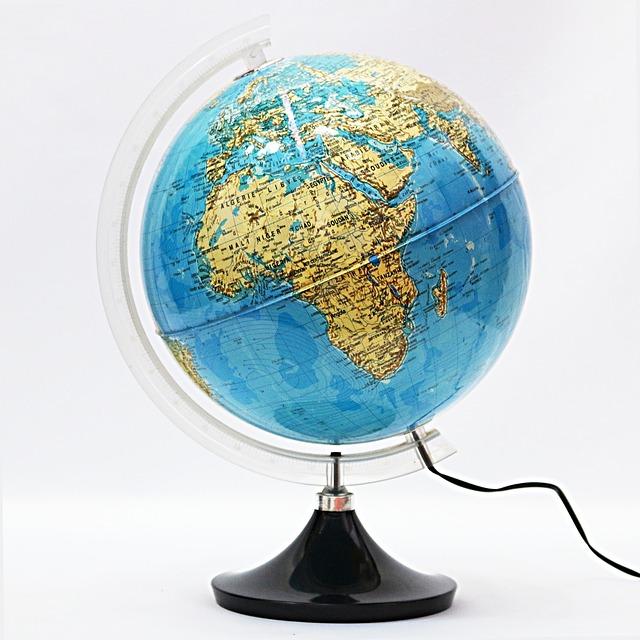 Free earth terrestrial globe global globe planet