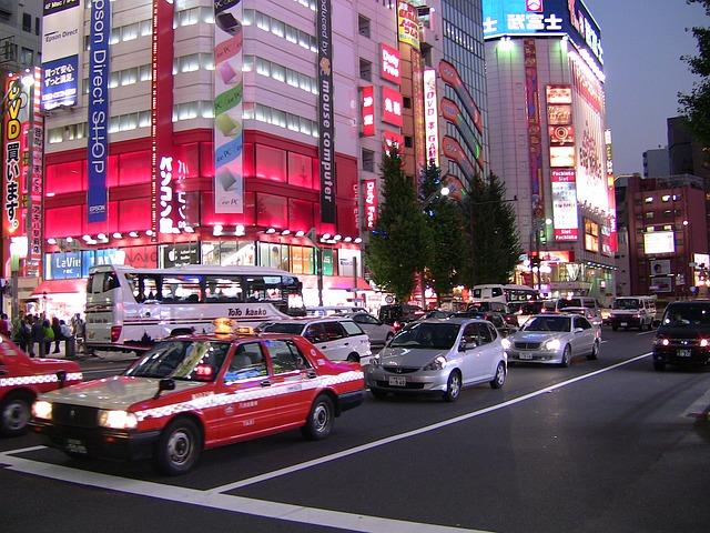 Free tokyo japan city traffic metropole