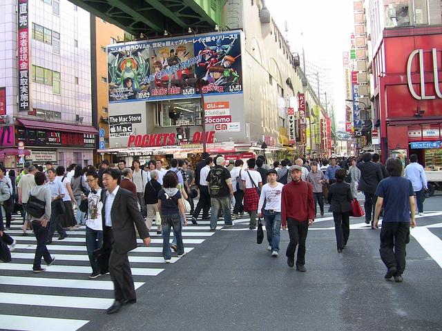 Free tokyo japan city people asia