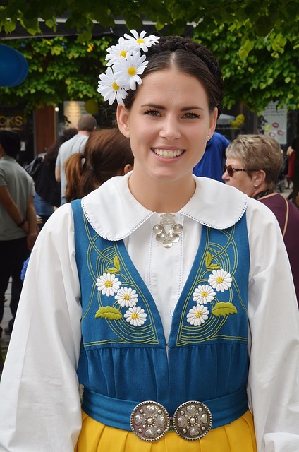 Free woman young lady lady tradition sweden