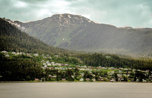Free alaska mendenhall glacier mountain snow scenic