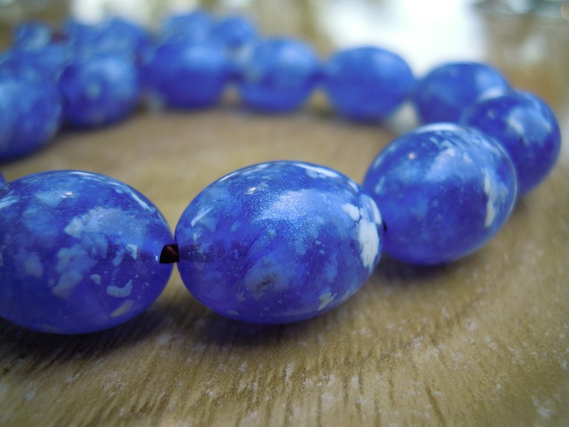 Free beads worry beads kompoloi blue relax