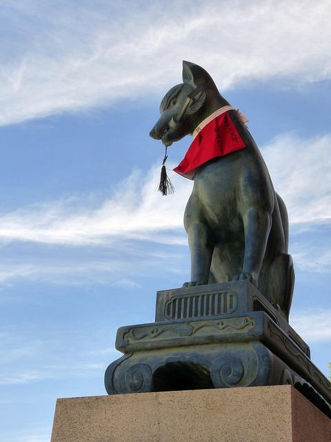 Free shrine japan cat kyoto prefecture buddhist temple