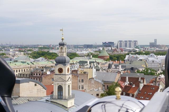 Free riga rooftops church