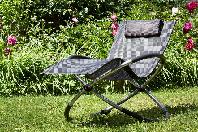Free deck chair design noble aluminium rest relax