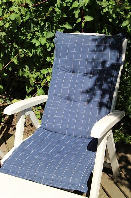 Free garden chair deck chair garden terrace balcony out