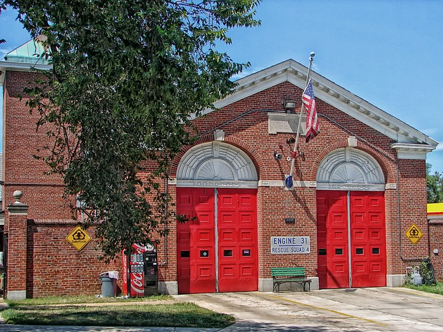 Free washington american flag firehouse fire station