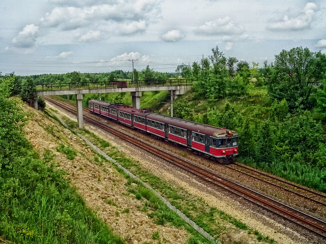 Free poland train travel transportation railway