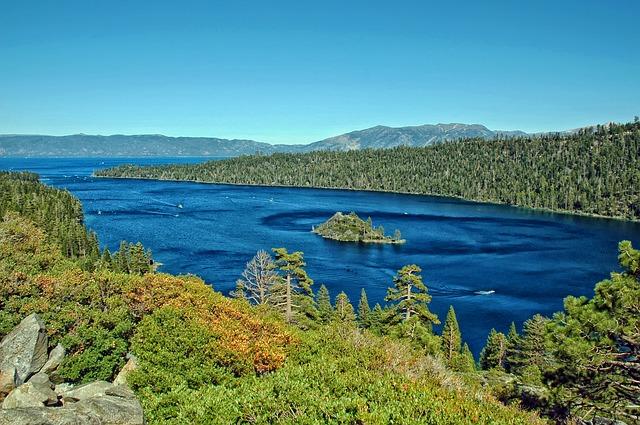 Free lake tahoe california water mountains scenic