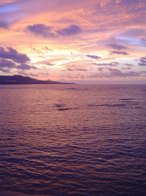 Free beach sunset horizon sky sea landscape
