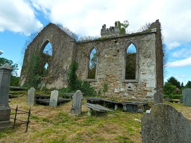 Free ruin old building ruins landscape stone