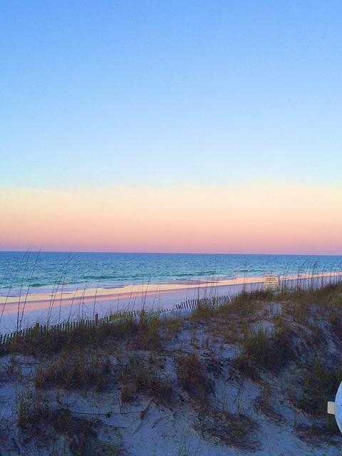 Free sunset sunrise beach ocean water sand destine