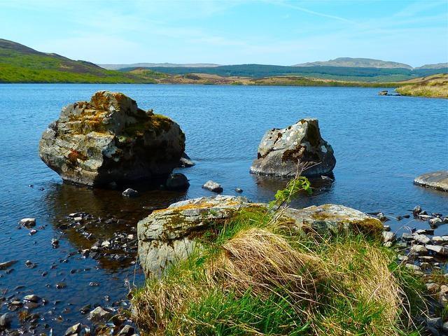 Free lake water scenic landscape scenery nature
