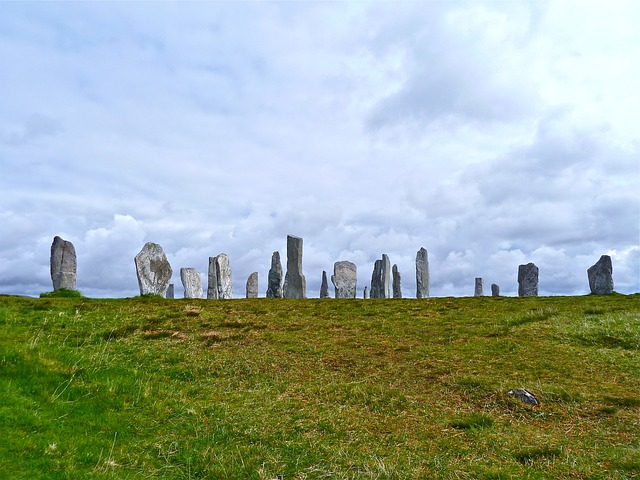 Free stone circle celtic stones ancient heritage