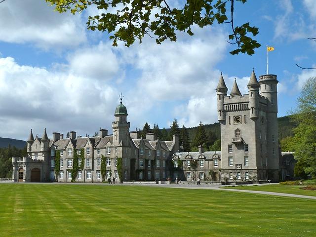 Free balmoral castle monument old historical landmark