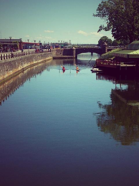 Free malmo sweden train station city water skane river