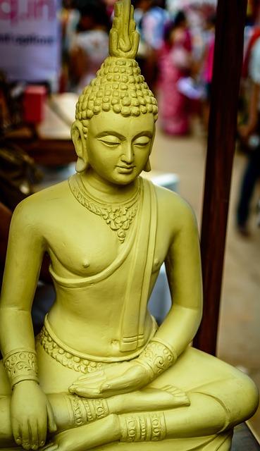 Free buddha buddha head monastery buddhism statue gold