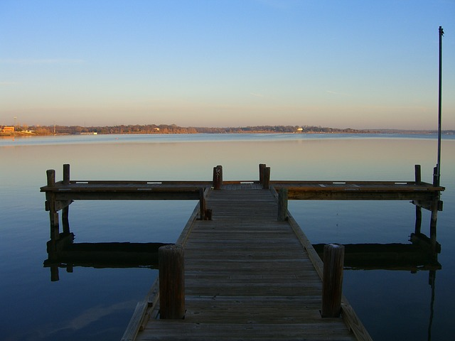 Free Photos: Lake pier reflexion | jay morales