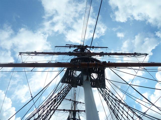 Free ship sailing ship sailing sailboat clouds sky