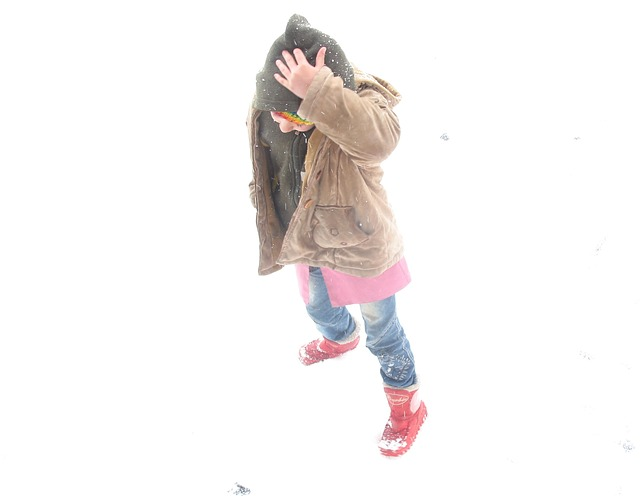 Free child winter cold snow student girl