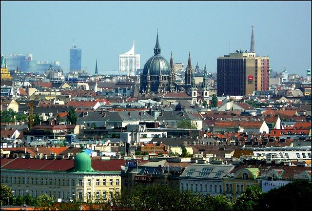 Free vienna city view architecture building landmark