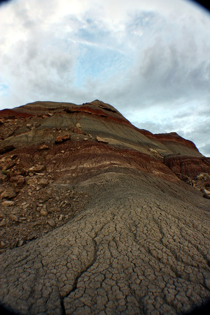Free painted desert landscape mountain arizona nature