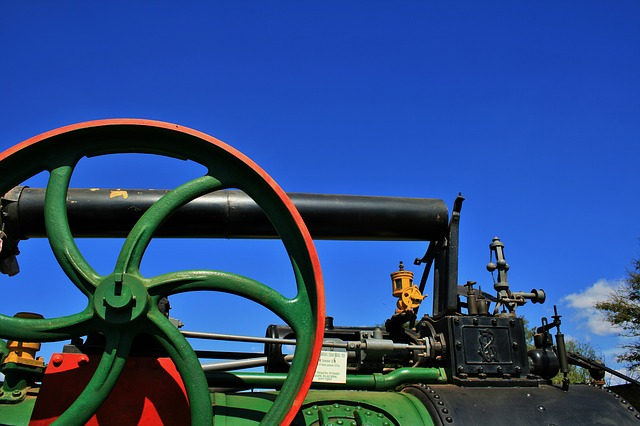 Free steam engine engine steam part green red wheel