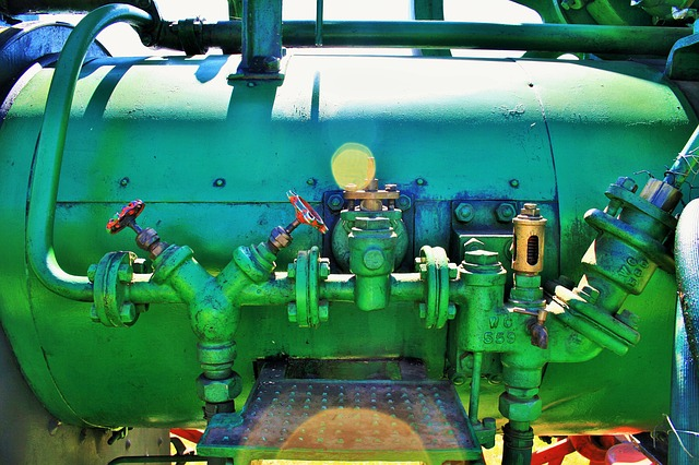 Free steam engine engine steam part green pipes gauges