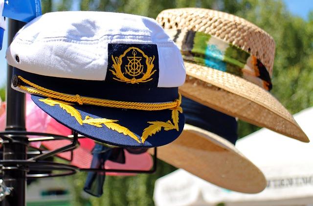 Free sun protection cap captain cap hat headwear