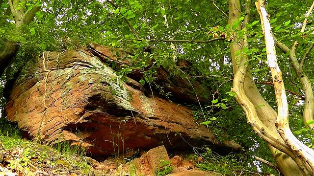 Free rock steep stone nature palatinate sandstone rocks