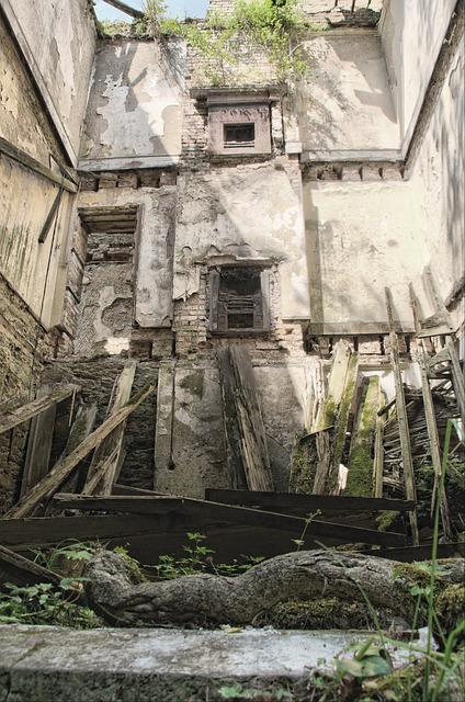 Free building architecture historical decay worn