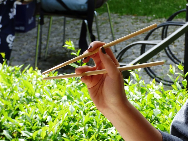 Free chopsticks eating sushi sensei japan wood bamboo