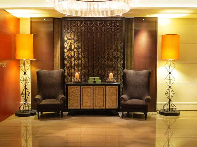 Free hotel lobby interior design decor