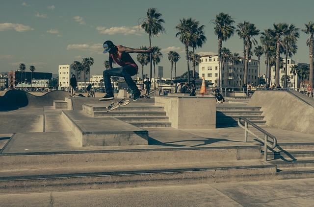 Free urban skateboard skating boarder stairs skate
