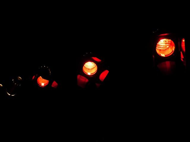 Free spotlight lamps night lights red red light