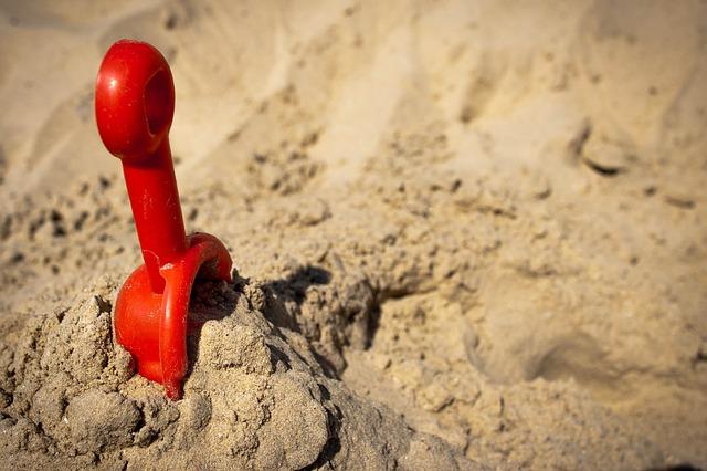 Free beach sand sunlight shovel toy summer seaside