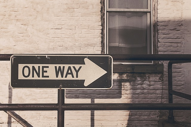 Free one way street road sign roadsign one way direction