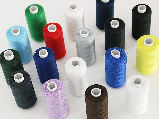 Free sewing thread couture colors multicolor coil coils