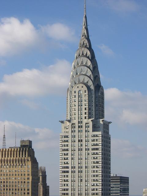 Free sky scraper new york building architecture